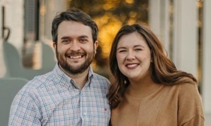 Hannah Prater Denson and husband