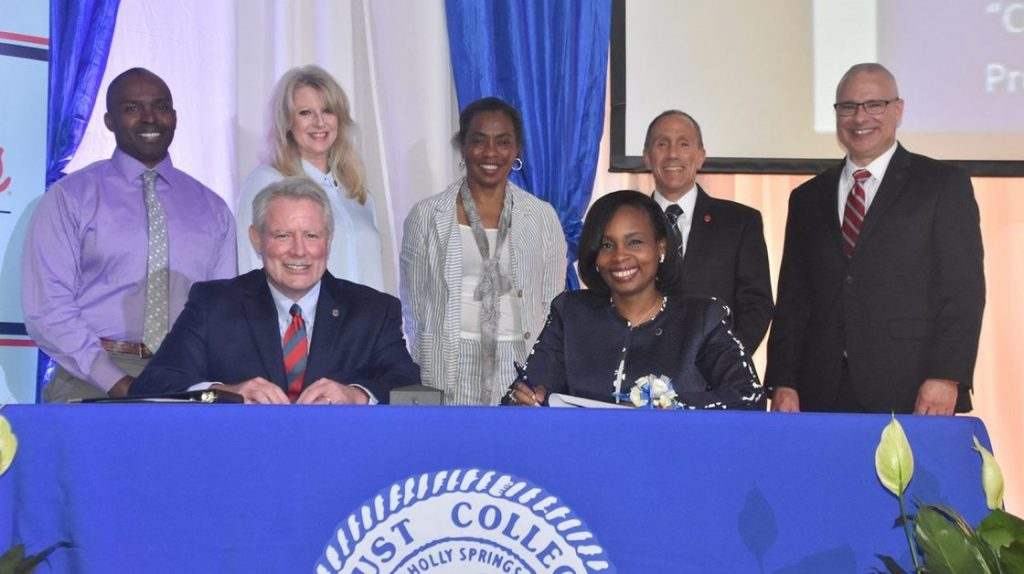 Ole Miss Engineering and Rust College signing